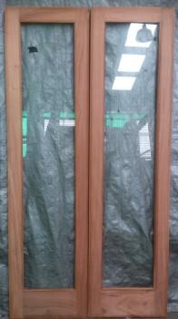 Surian Cedar Internal Doors - Single Light Pair Doors